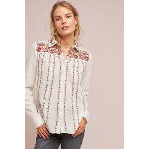 Akemi + Kin Buillon Embroidered Shirt